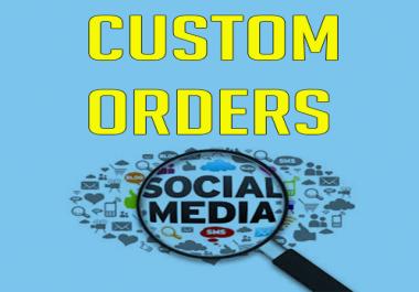 Offering Custom Order For Buyers