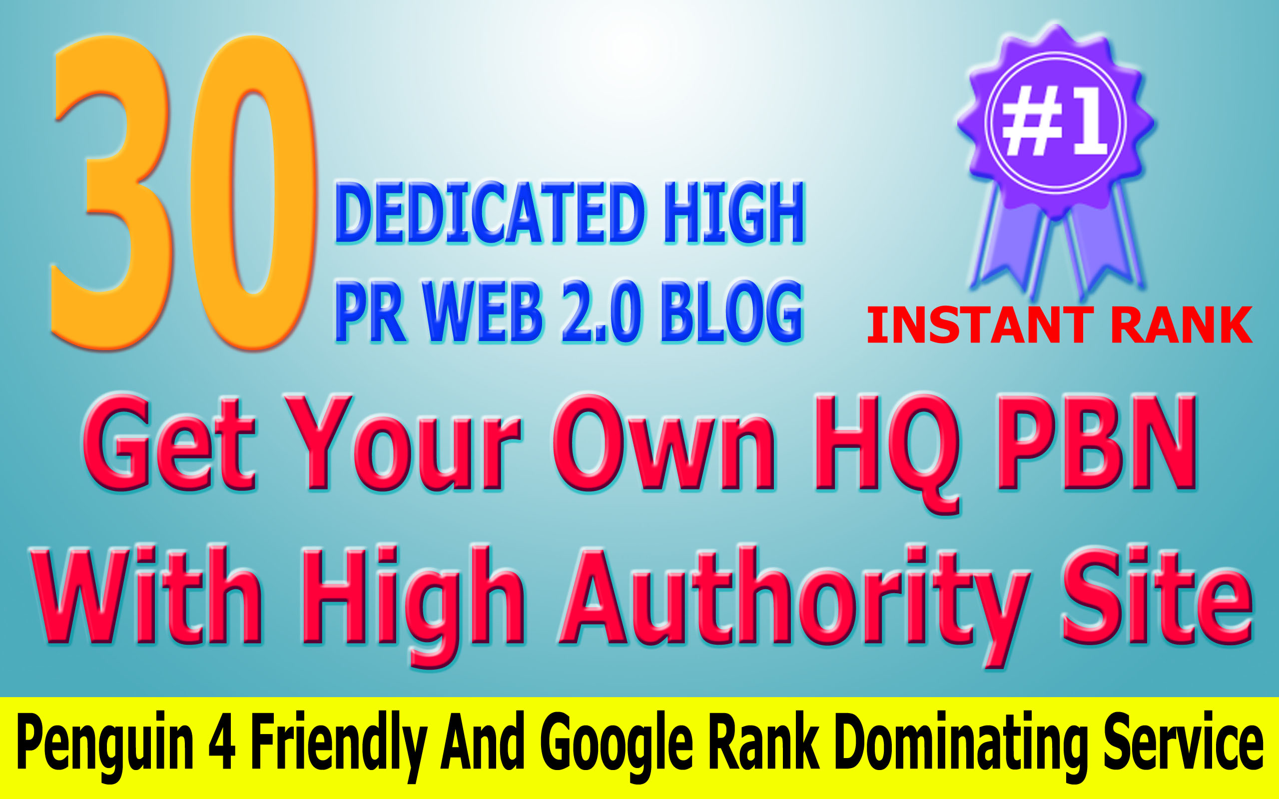 Boost Google Rank with Permanent 25 High Pr Web 2 PBN