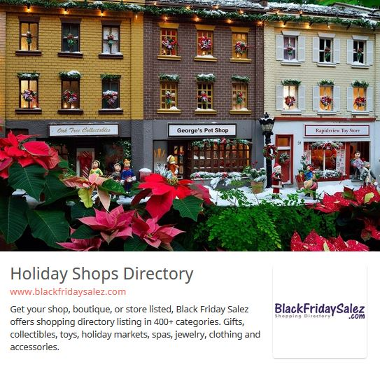 1-Year Shopping Directory Listing