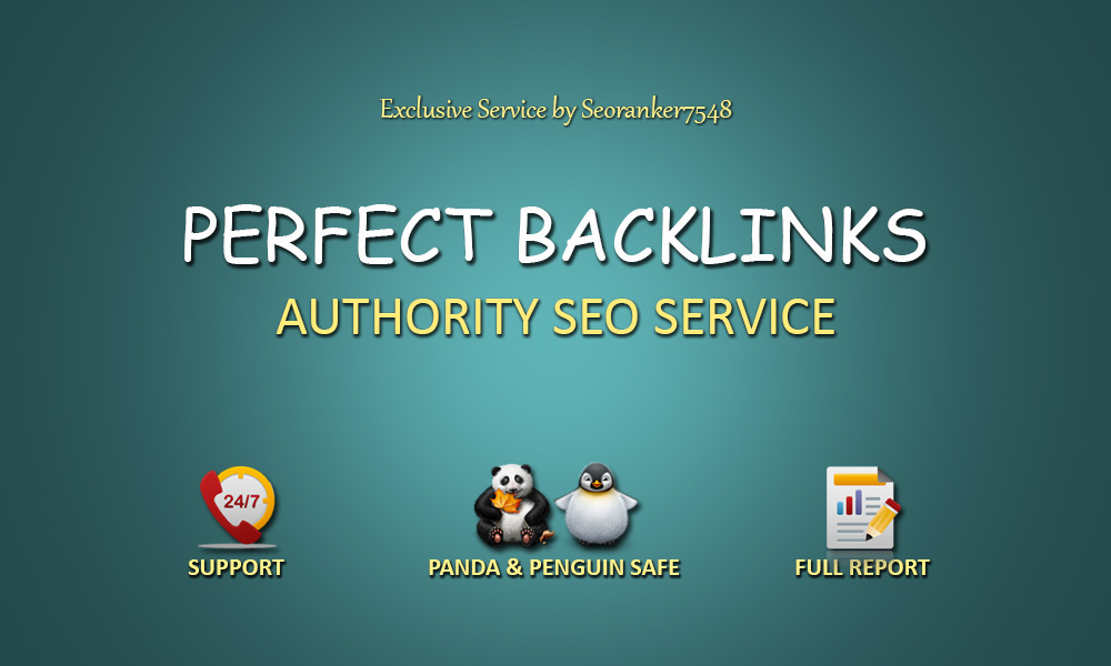 40 Pr9 + 20 Edu-Gov Perfect Backlinks From Authority Domains