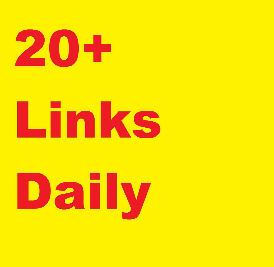 20+ High Authority links DAILY, DA 40-99, WHITEHAT,...