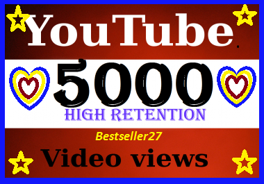 Super fast 40005000 YouTube views super fast delivery only