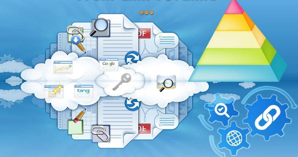 create 3 tier link pyramid to improve Google rankings