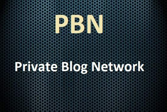 do 10 PBN blog post for you on my private blog network