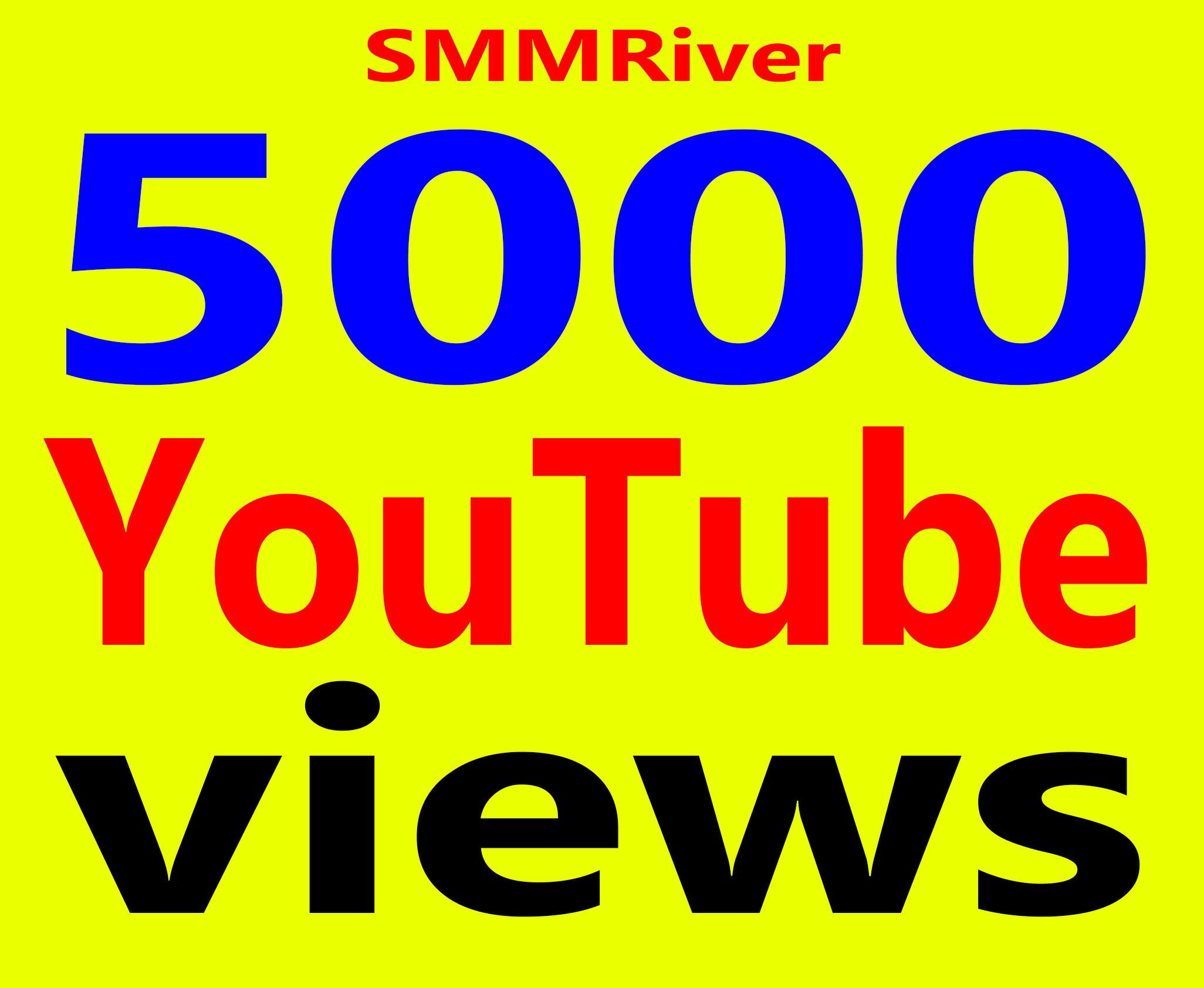 Fast 5000 To 7000 Views High Retention 99% Ad-sense Safe & Non Drop