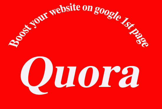 20 Quora Answer with your keywords amp url