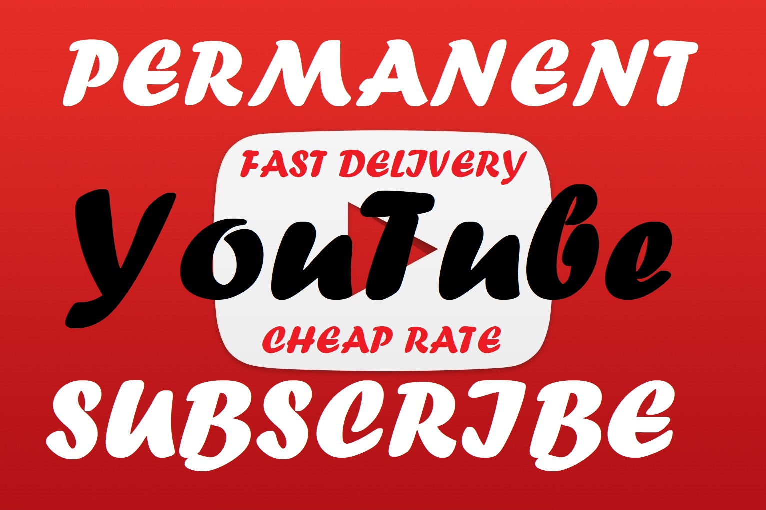Permanent 1000+ real and active You_Tube Sub_scriber Super fast delivery