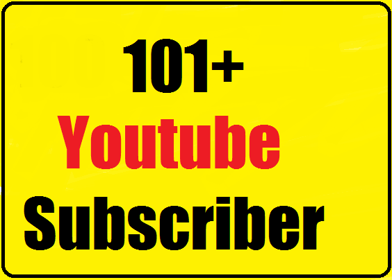 100+ Youtube subscriber manually active channel very fast 24-48 hours