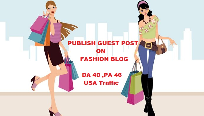 Guest Post on Fashion Blog DA 40