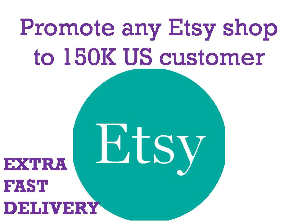 Promote any Etsy shop to 150K US shoppers