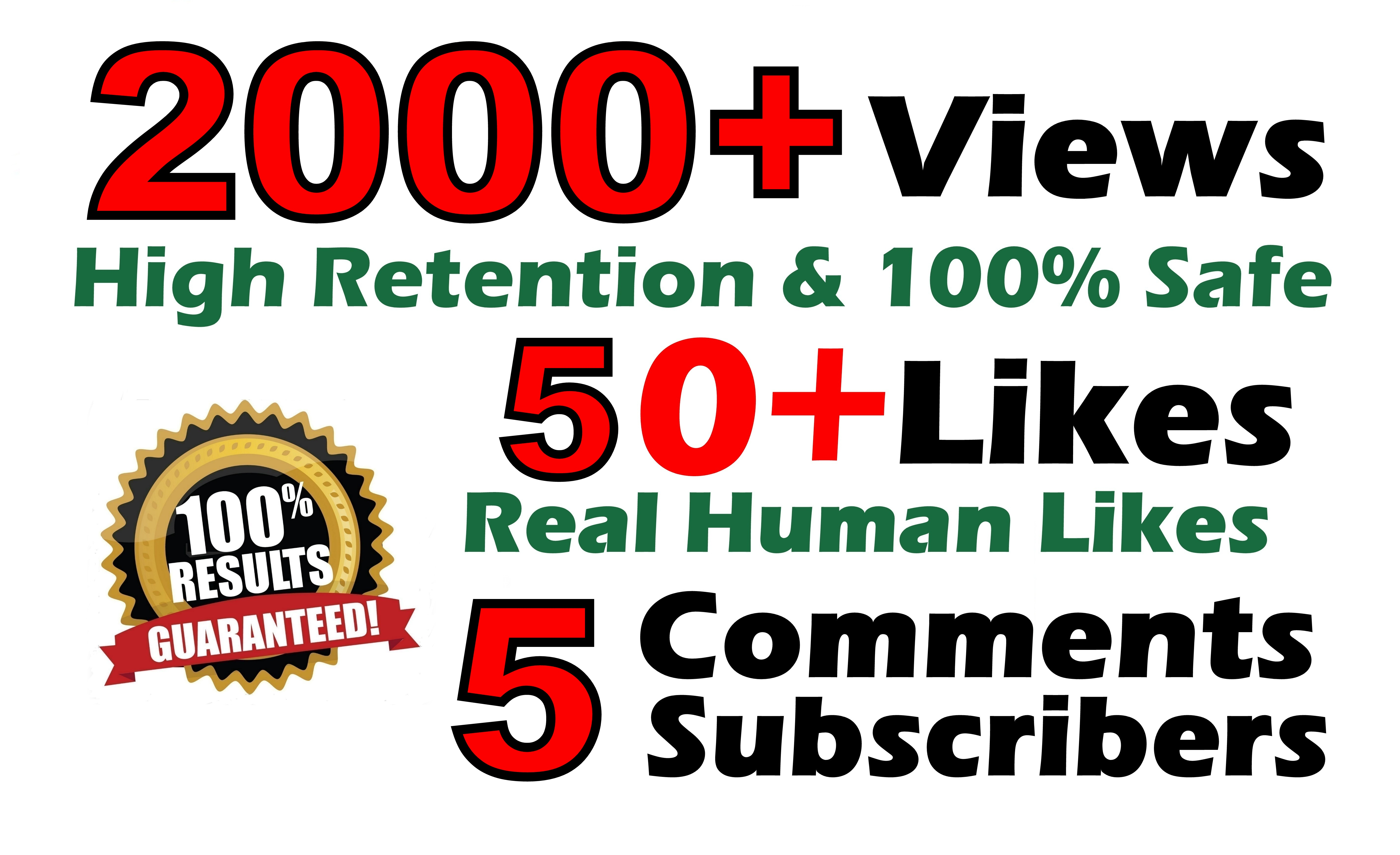 2000+ Views 20+ Likes 20+ Share 2 Topicwise Comments Lifetime Guarantee Fast amp Safe Service