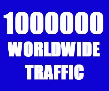 Real 10,00,000 Website Traffic Worldwide