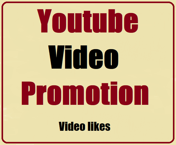 YouTube Videos Promotion Safe And High Quality