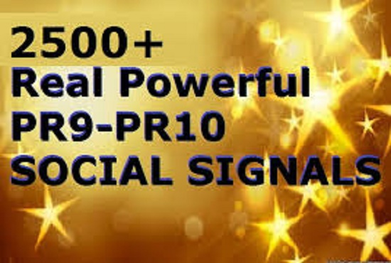 Build 1500 Powerful Social Signals