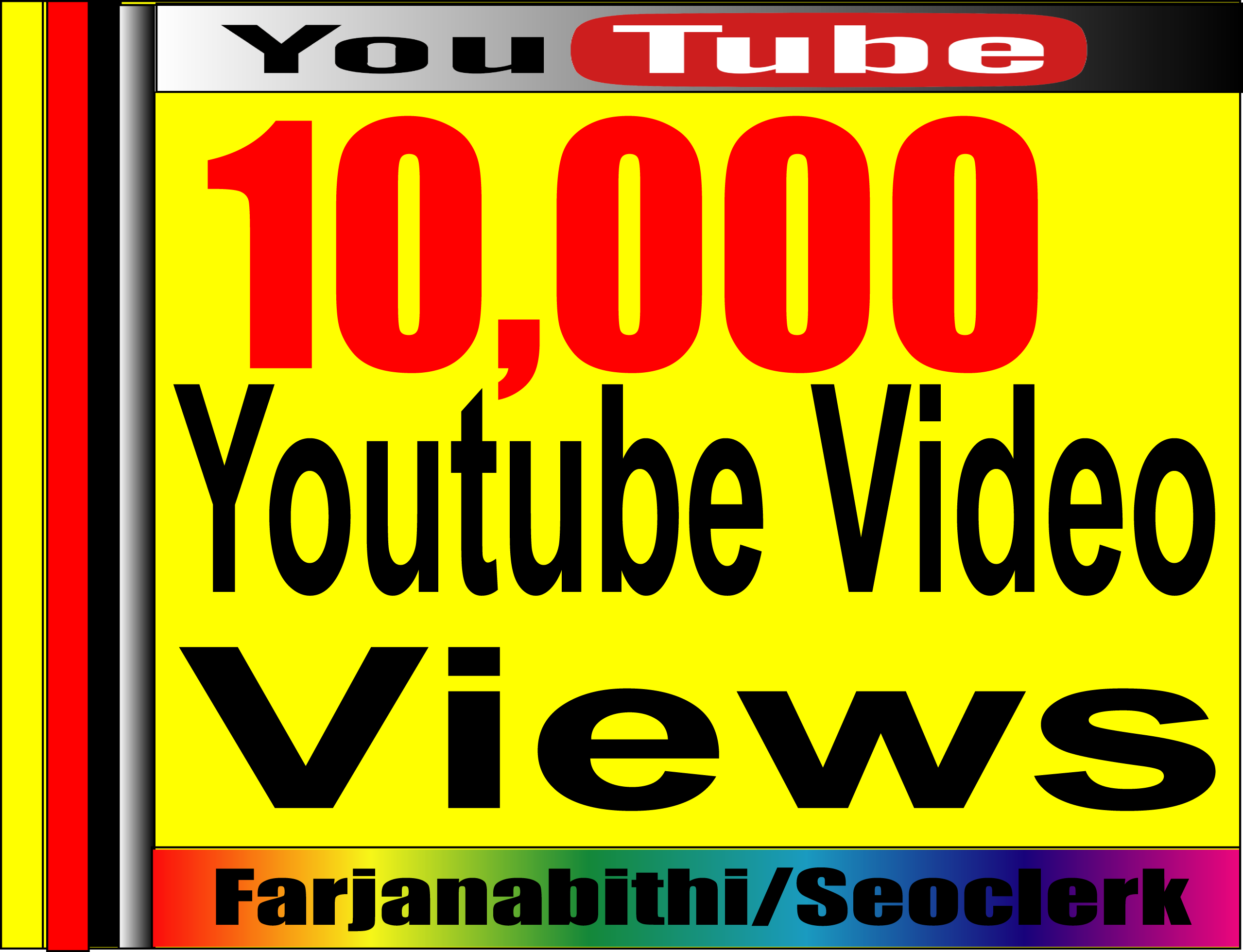 Real & Active 6,000 To 15,000+ High Retention Adsence Safe Youtube Video views