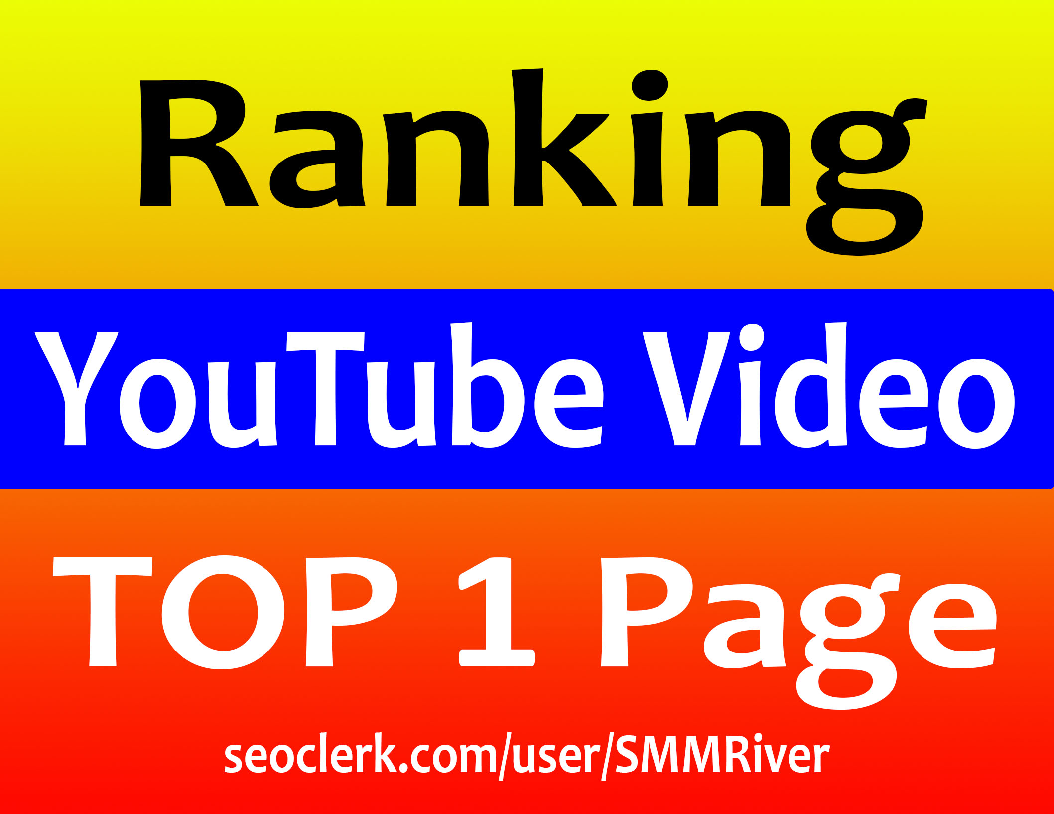 Ultimate YouTube Video Ranking Guarantee TOP 1 Page -...