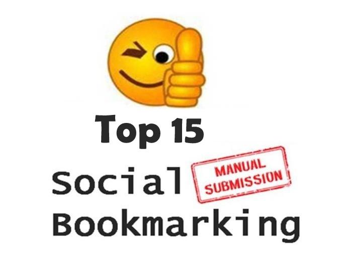 Submit MANUALLY Top 10 High DA 30 + Social Bookmarking