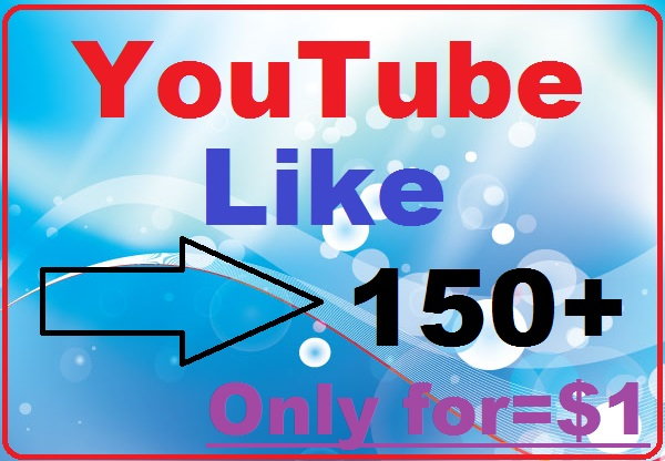 Very fast 150+youtube videos likes