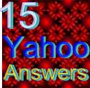 Create 15 Yahoo answers posting