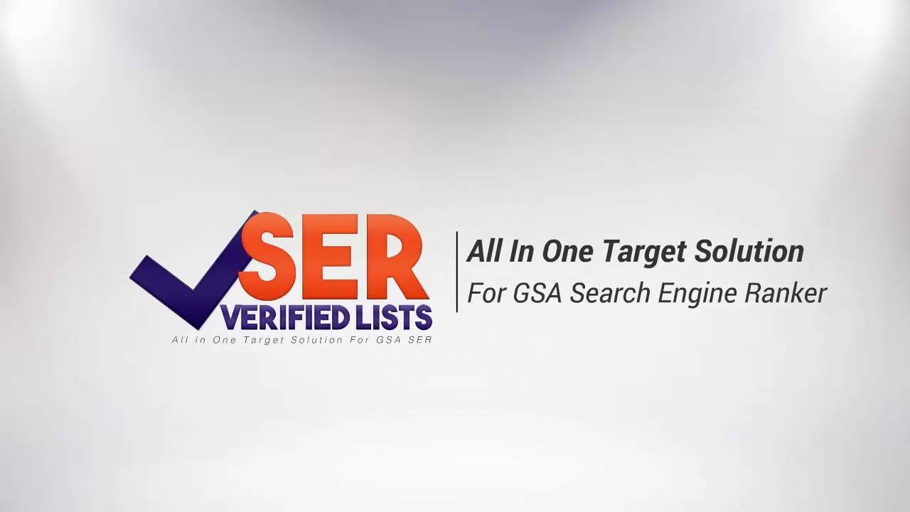 GSA Ser Verified list January 2017