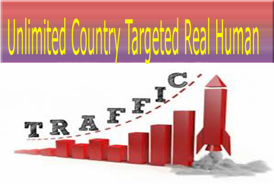 Unlimited Real Human Traffic From Social Media Sites amp  Country Targeted For 6 Months