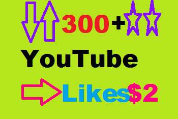 Super Fast 300+ Real YouTube Video Likes