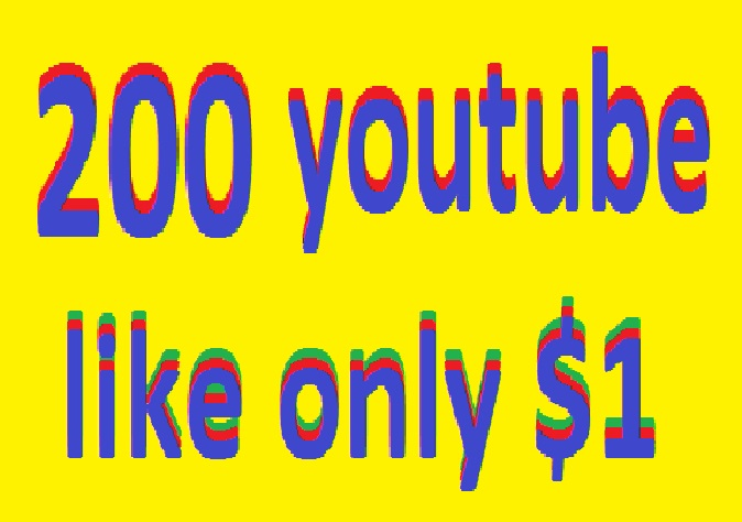 Instant High Quality 190 youtube likes