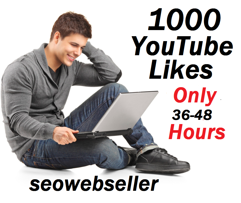 Limited Offer 1000+ youtube video likes non drop and very fast in complete just