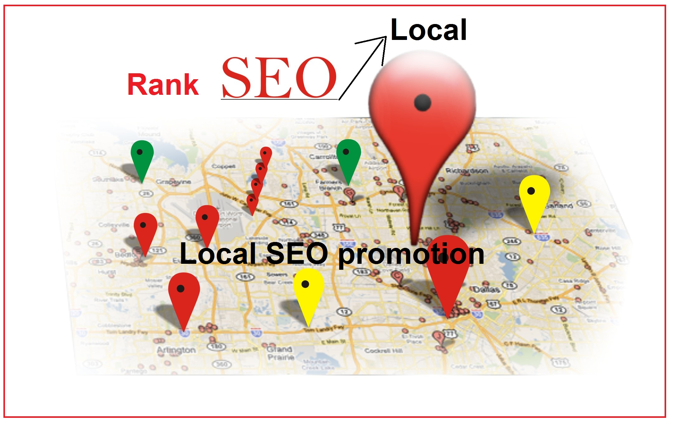 Search Engine rank 125 Google Map Citations for Local...