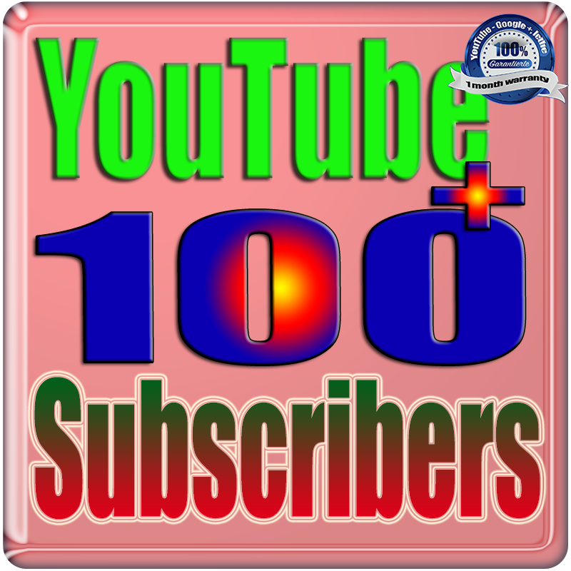 We Will Add 80 to 100 YouTube Subscribers or Likes or Views Real Safe & Non Drop and Fast