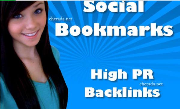Manual Social bookmarking upto 50 sites PR8