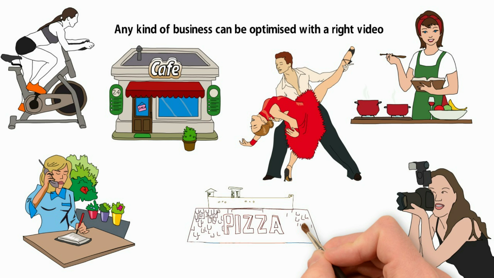 create White Board animation video for your Business