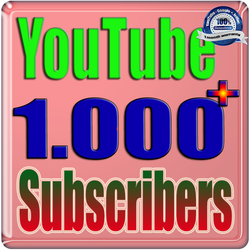 We Will Add 1000+ Real Subs;cribers YouTube Safe Fast and Non Drop Very Cheap