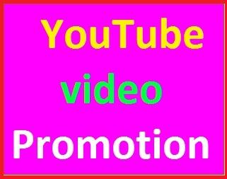 YouTube Video Promotion Social Media Marketing instant start