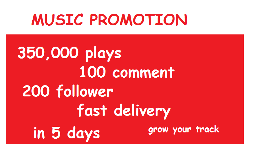 USA 350,000 Plays, 200 Follower, 100Comment Deal