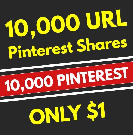 10,000 High Quality PR10 Pinterest Web Pin Share Soci...