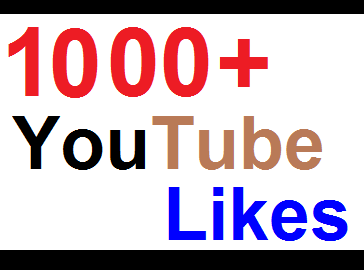 1000+ REAL YouTube Video Likes