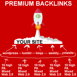 Premium Quality Web 2.0 Backlinks RANK BLAST to hit Google TOP SPOT