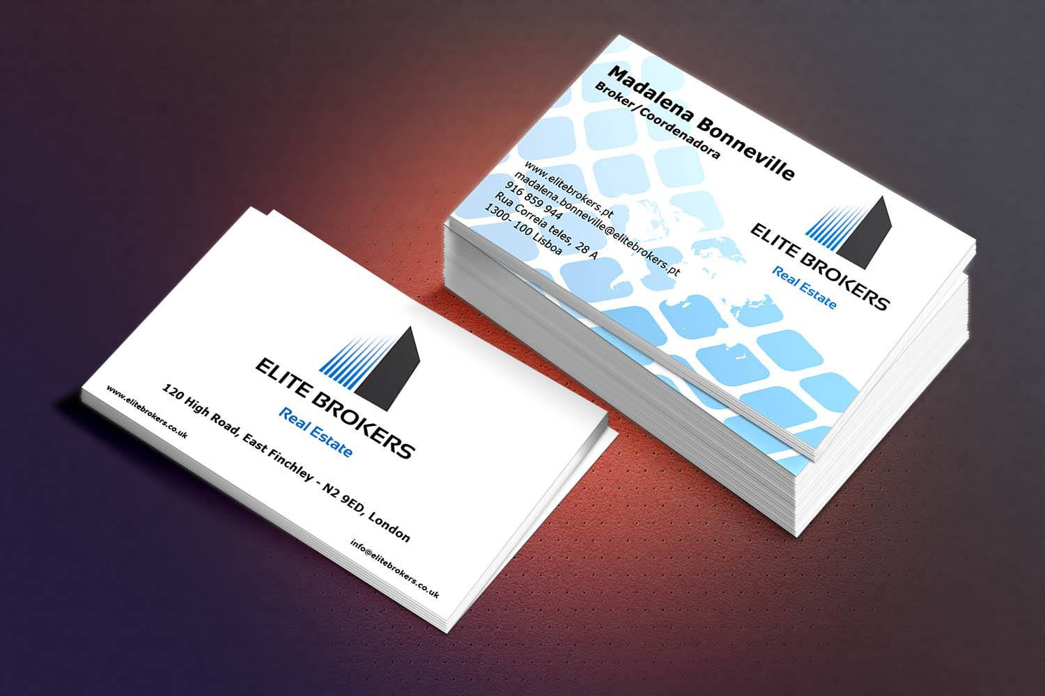 Provide Professional Business Card Design services in just