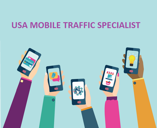 Drive Premium 10,000 Real Usa Mobile Visitor for 1 Days