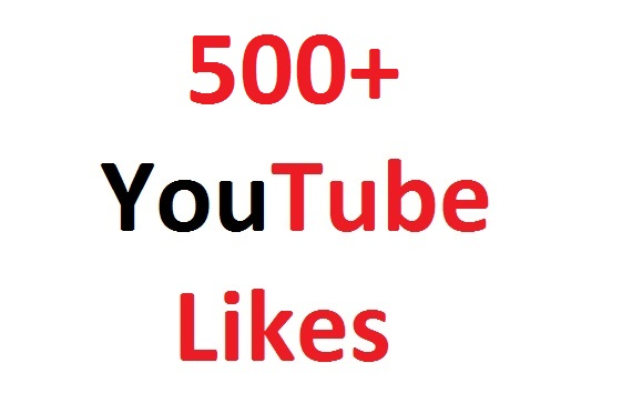 500+ YouTube likes 48 hours ,very fast services.