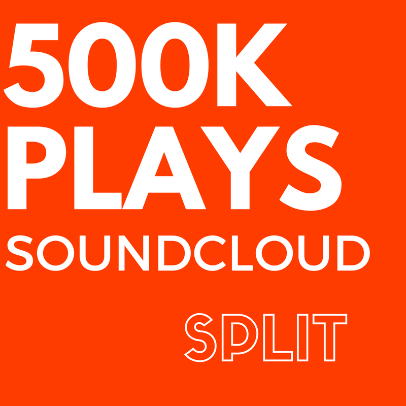 500,000 SoundCloud Plays