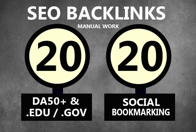 20 EDU GOV amp 20 Social Bookmarking