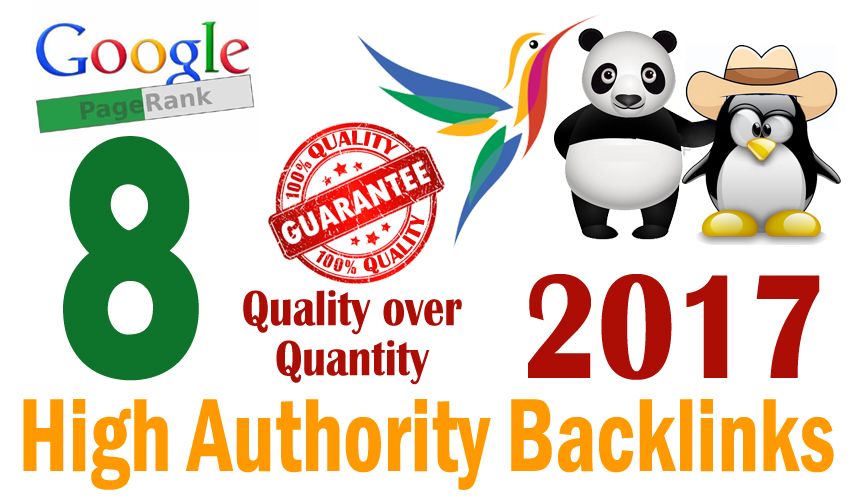 Create and Index manually powerful PR8 Backlinks with high quality and login information