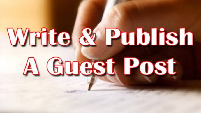 Write and Publish your Guest post