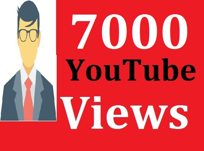 7000 + High Retention and Safe YouTube Video Promotion