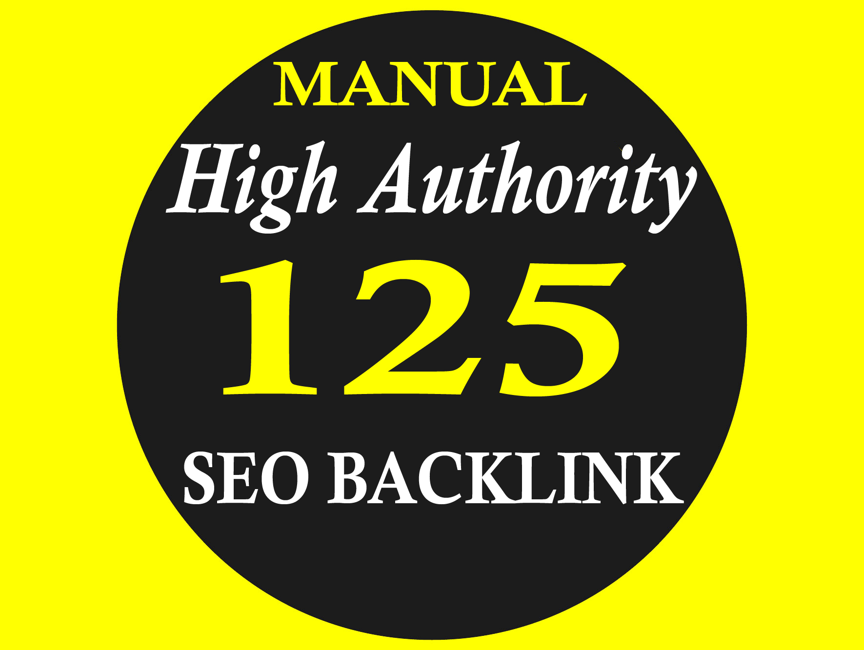 Skyrocket Your Google Ranking With 125 Manual High Authority SEO Back-Link