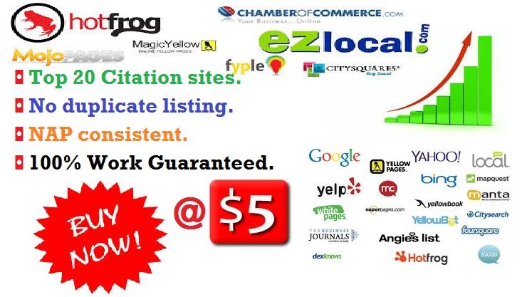 Citations Business Listing