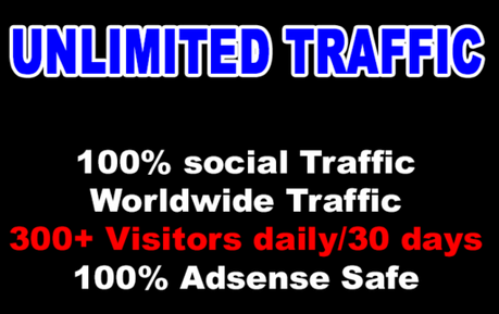 Get Unlimited SOCIAL NETWORK Traffic Visitors For 30 days from ANY TWO Social Networks