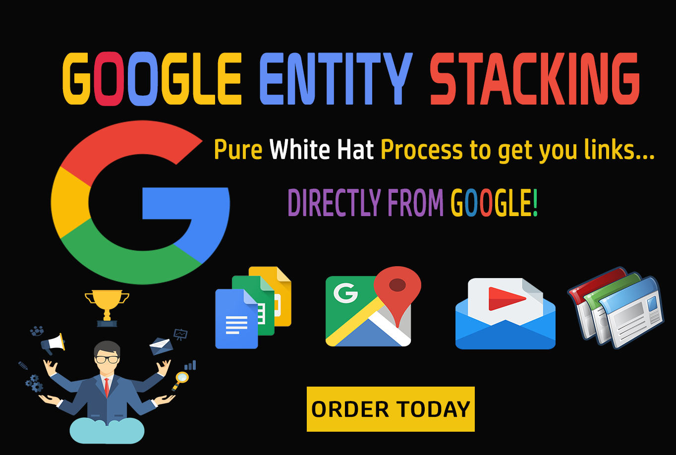 Google Entity Stack-GET POWERFUL LINKS FROM GOOGLE OW...